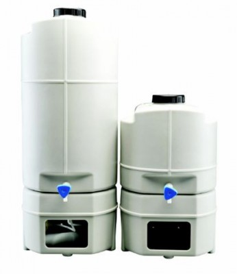 Thermo 60L Bench Top storage tank with level display and pressure pump