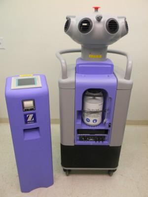BioQuell Model Z Hydrogen Peroxide Vapor Room Decontamination Mobile Generator