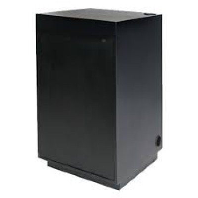 Black Locking Pedestal
