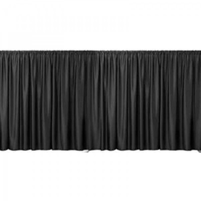 Black Velour Drape 16ft x 4.5ft