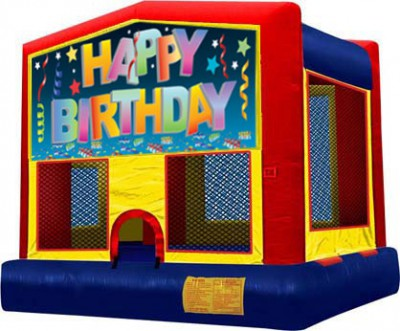 Birthday Multi-Colored Bouncer