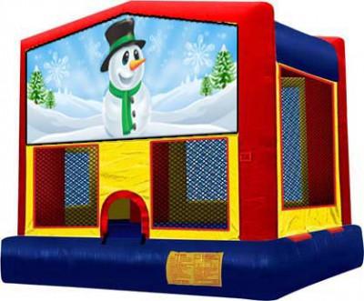 Snowman/ Winter Bouncer