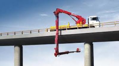 Bridge Boom rentals