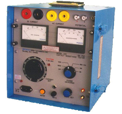 Broman Model 210 Contact Resistance Test Set