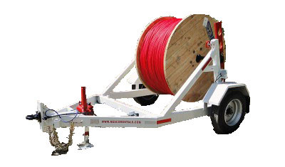 Cable Reel Trailer Rentals And Leases | KWIPPED