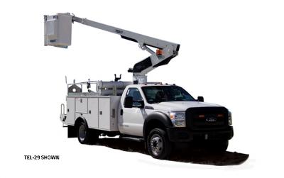 S-92 Aerial Lift Bucket Truck Rental
