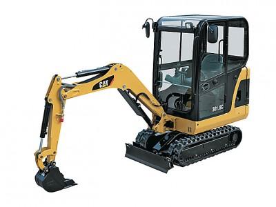 CAT 301.8C Mini Hydraulic Excavator 7' Depth