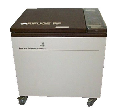 Heraeus Varifuge RF, refrigerated Floor model Centrifuge
