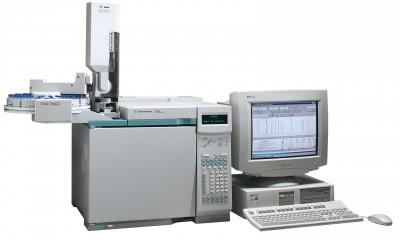 Agilent 6890N Gas Chromatograph, Single Detector, Single Injector 1