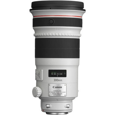 Canon 300mm f/2.8L IS II Super Telephoto Lens