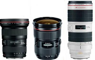 Canon EF Zoom Lens Triple Package II