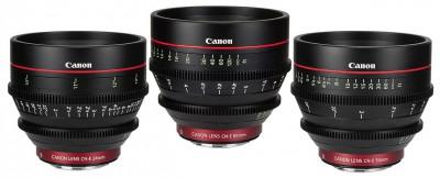 Canon Cinema Prime Lens Kit