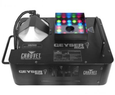 Chauvet Geyser Fogger and LED Effects Light