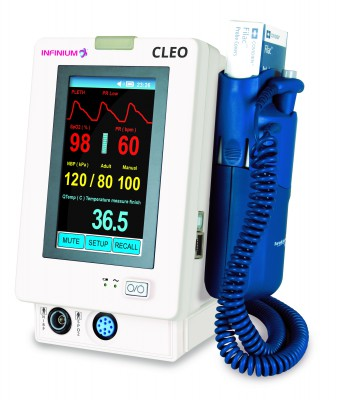 Cleo Vital signs monitor.