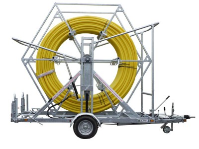 Coiled Pipe Trailer rentals