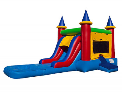 Combo Bouncer with Wet/ Dry Slide