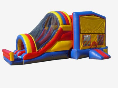 Dual Lane Jump-n-Slide Bouncer