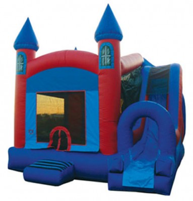 Castle Jump and Slide Combo Bouncer