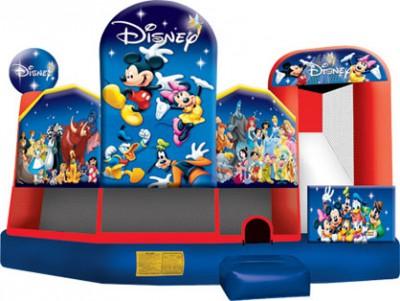 Disney 5 in 1 Combo Bouncer