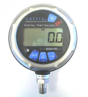 Crystal XP2-Logger Pressure Gauge, Datalogging