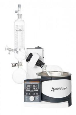 Heidolph Hei-VAP Precision Rotary Evaporator Motor Lift G3 Vertical Condenser Coated Glassware