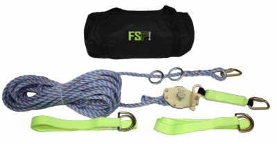 FSP USA FS805 Portable Rope Horizonal Lifeline - 60'