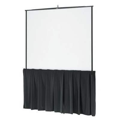 Da-Lite Tripod Screen 6 ft Diagonal w/ Skirt