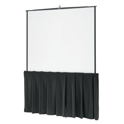 Da-Lite Tripod Screen 10 ft Diagonal w/ Skirt
