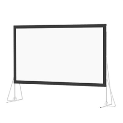 """DaLite 9' x 5'2"""" Fast-Fold Deluxe Screen System"""