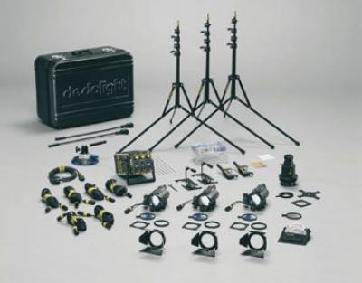 Dedolight Tungsten 150 Watt 4 Light Kit