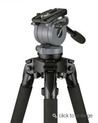 Miller DS10 Telescoping Tripod w/DS10 Fluid Head
