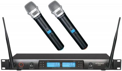 Dual Handheld Wireless Microphone Set