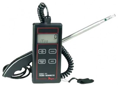 Dwyer 471 1 Digital Thermo Anemometer Rental