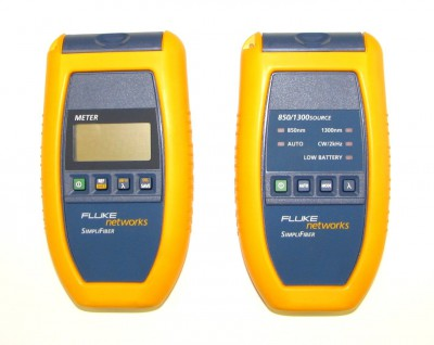 Fluke Networks 8250-02 Multimode Optical Fiber Test Adapter