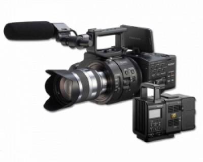Sony NEX FS700 4K Camcorder Package