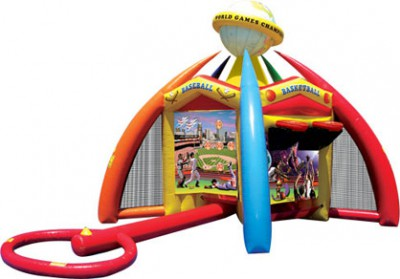 World of Sports Inflatable Game