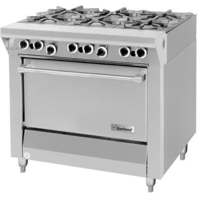Garland M43R Master Series Natural Gas 6 Burner 34