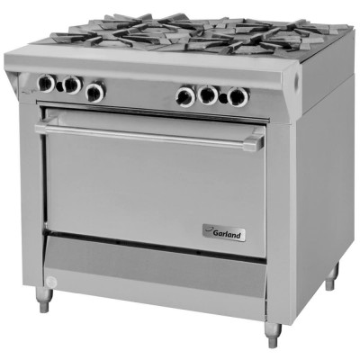 Garland M44S Master Series Natural Gas 4 Burner 34