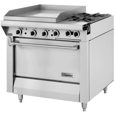 Garland M47-23S Master Series Natural Gas 2 Burner 34