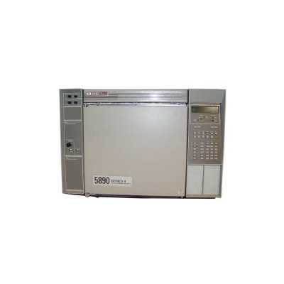 Hewlett Packard 5890 Series II Plus Gas Chromatograph Single injector and single detector with EPC