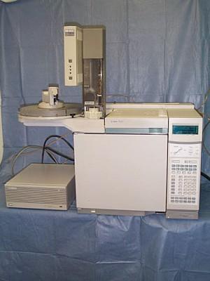 Agilent 6890 Gas Chromatography