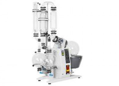 ​Buchi Rotavapor R-220 EX T4 230V Large-Scale Rotary Evaporator C-Cold Trap 20L Evaporating Flask 2 Dual Receiving Flasks 2 x 10L