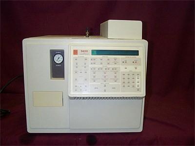 Varian 3400, with Dual DetectorGC Gas Chromatograph