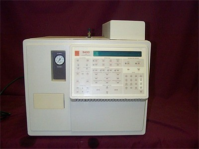 Varian 3410 with Single Detector Gas Chromatograph