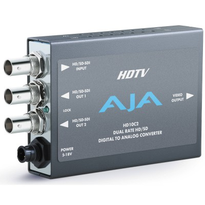 AJA  HD10C2 HDTV Serial Digital to Component Converter