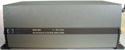 Hewlett Packard 83018A Microwave Ampifier  2 - 26.5Ghz
