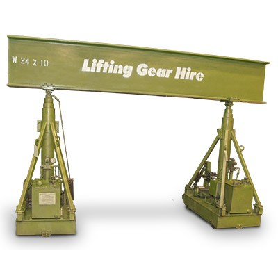 Hydraulic Gantry 20 Tons with 15' Beam
