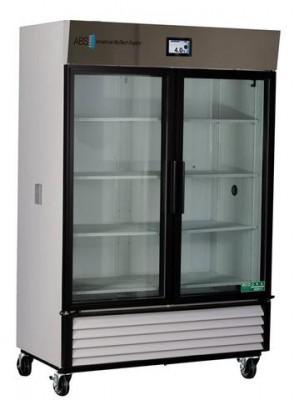 American BioTech Supply TempLog Premier Glass Door Chromatography Refrigerator (49 cu ft)