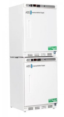American BioTech Supply Premier Combination Refrigerator and Freezer (9 cu ft) (Solid Door) (Left Hinge) (Manual Defrost)
