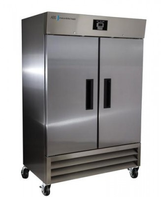 American BioTech Supply Premier Stainless Steel Laboratory Refrigerator (49 cu ft)